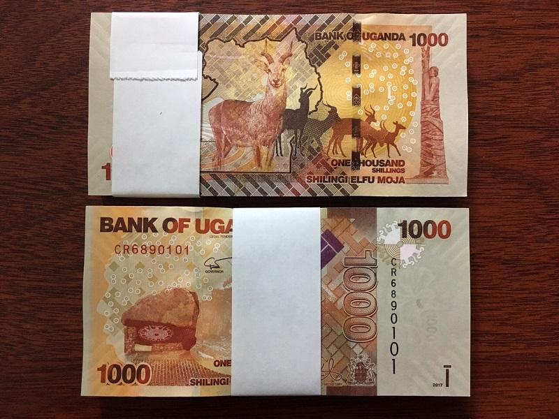 1000 Shilling Uganda - 100 tờ