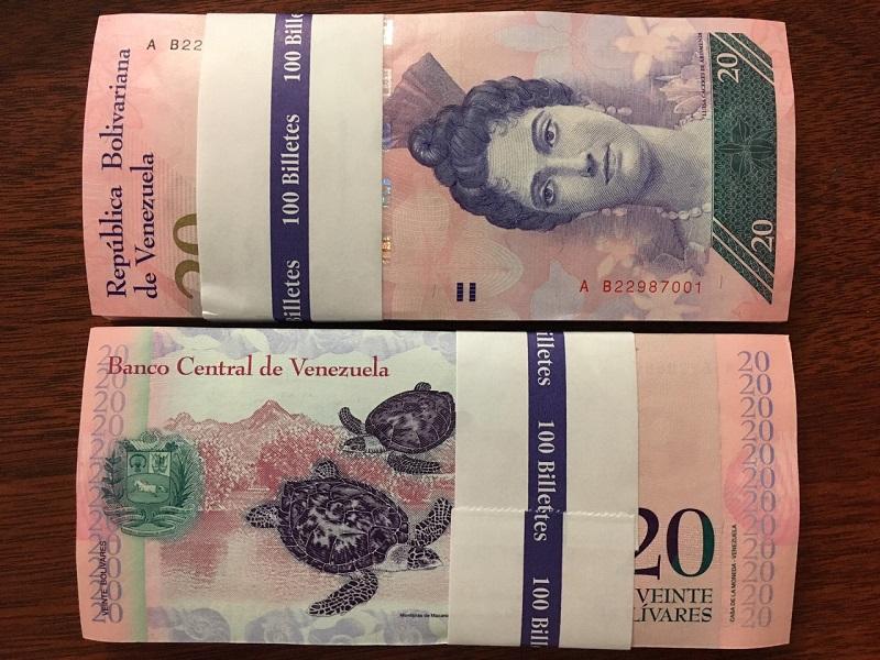 2 Venezuela hình con rùa - 100 tờ