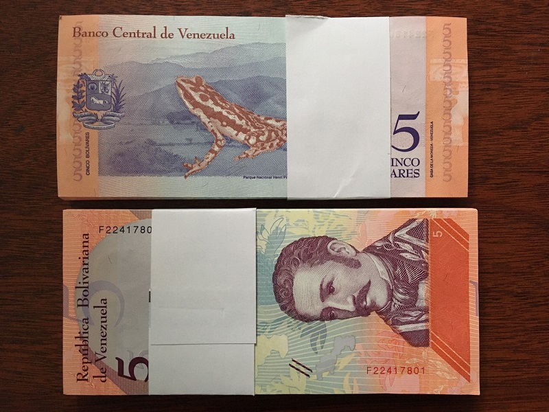 5 Venezuela mẫu mới - 100 tờ