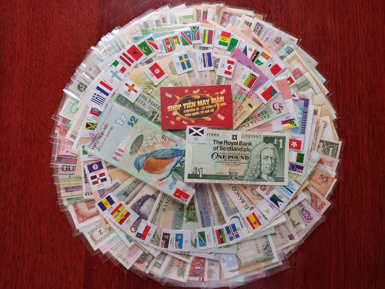 Bộ Tiền 160 Quốc Gia