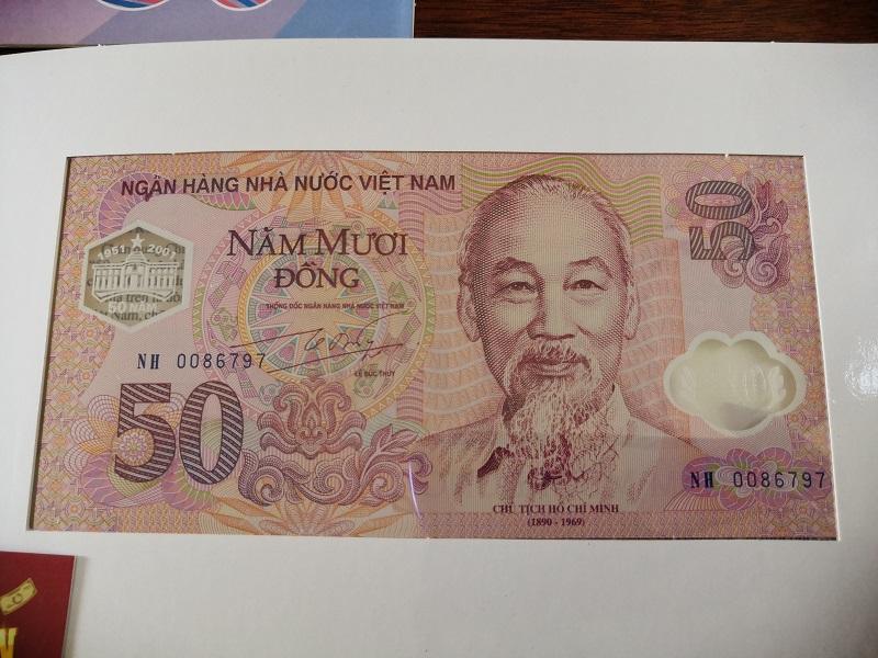 50 Đồng Kỷ Niệm 50 năm Thành Lập NHNNVN