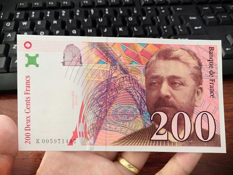 200 Francs Pháp năm 1996