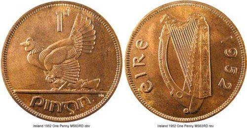 Trước đây, những người bán hàng ở Ireland thường có phong tục trả lại đồng  một xu cho khách tới mua để chúc họ may mắn với món đồ vừa lựa chọn.